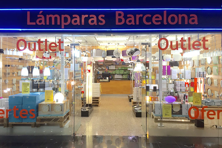 L mparas barcelona baricentro - Outlet lamparas barcelona ...